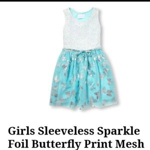 Butterfly dress size 7/8